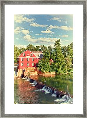 Swimming At War Eagle Framed Print by Robert Frederick