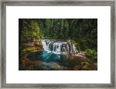 Swimming Hole Framed Print