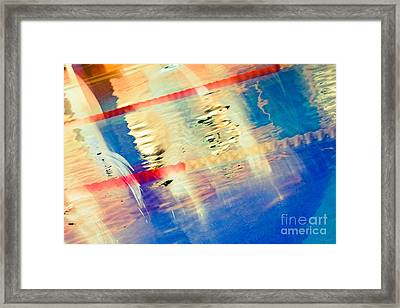 Swimming Pool 01b - Abstract Framed Print by Pete Edmunds