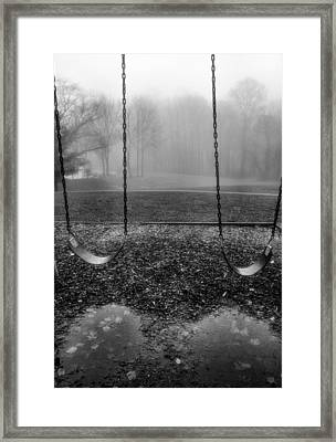 Swing Seats I Framed Print by Steven Ainsworth
