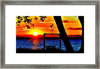 Swing Set Framed Print
