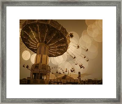 Swinging Framed Print by Gothicrow Images