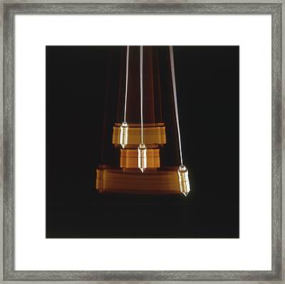 Swinging Pendulum Framed Print by Dorling Kindersley/uig