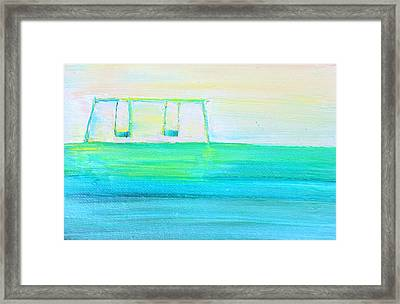 Swings Framed Print by Fabrizio Cassetta