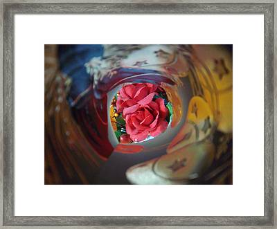 Swirl Framed Print by Rosalie Klidies