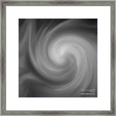 Swirl Wave I Framed Print by David Gordon
