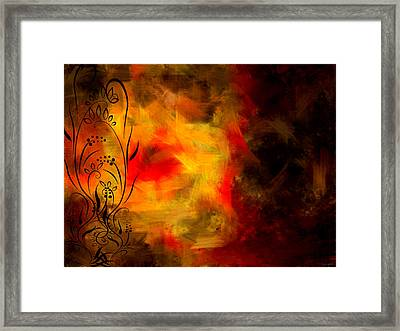 Swirled Framed Print by Lourry Legarde