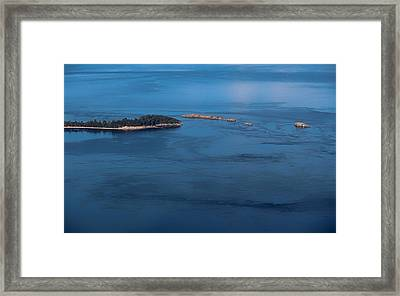 Framed Print featuring the photograph Swirling Currents by Jacqui Boonstra