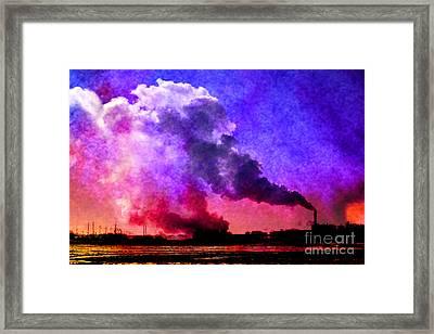 Swirling II Framed Print by R Kyllo