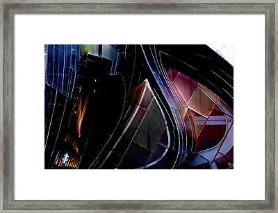 Swirling Shingles Framed Print