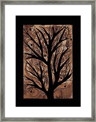 Swirling Sugar Maple Framed Print by Barbara St Jean