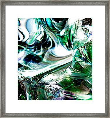 Swirls Of Color And Light II Framed Print by Kitrina Arbuckle