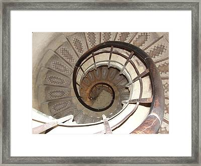 Framed Print featuring the photograph Swirls by Tiffany Erdman
