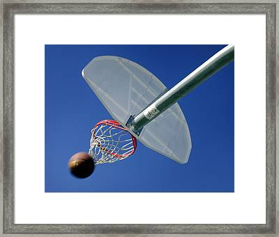 Swish  Framed Print by David and Carol Kelly