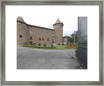 Swiss Castle Framed Print