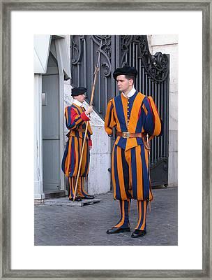 Swiss Guard Framed Print