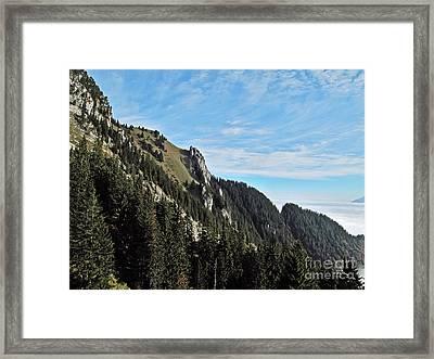 Swiss Sights Framed Print