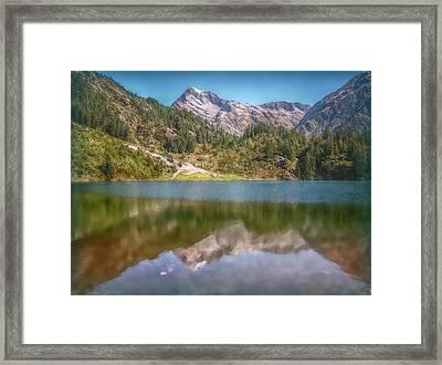 Swiss Tarn Framed Print