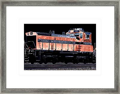 Switch Engine Framed Print