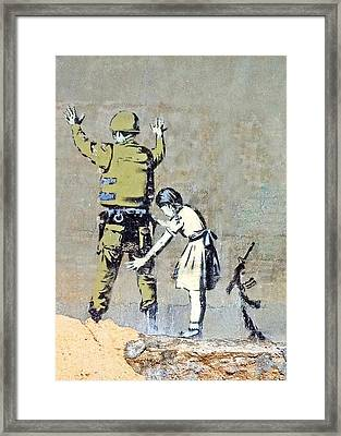 Switch Roles Framed Print