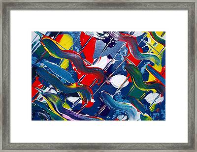 Swivel Framed Print by Kjirsten Collier