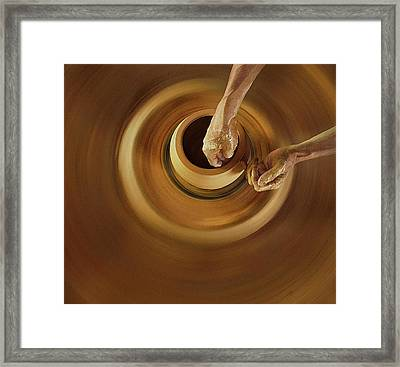 Swivelling And Shape Framed Print