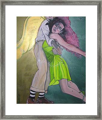 Swoon Framed Print