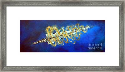 Sword Of The Word Framed Print