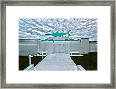 Swordfish Beach Club I Framed Print