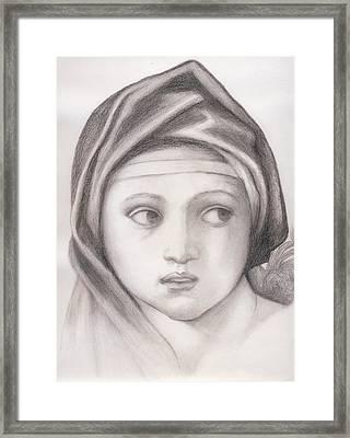Sybil Framed Print