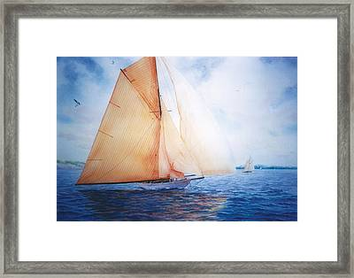 Syce Framed Print by Marguerite Chadwick-Juner