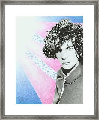 Syd Barrett Framed Print by Melissa Spears