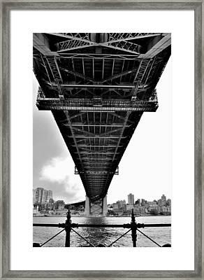 Sydney Bridge 2 - Sydney - Australia Framed Print