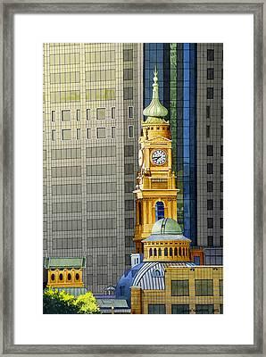 Sydney Clock Tower Framed Print