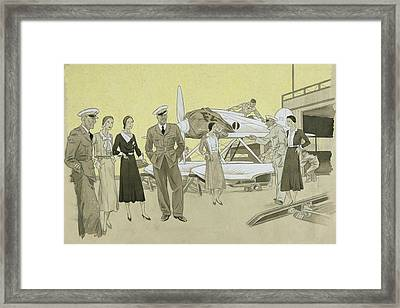 Sydney Cup Race Framed Print by Helen Dryden