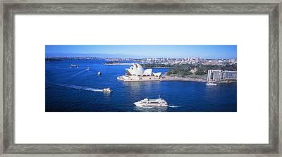 Sydney Harbor, Sydney, Australia Framed Print