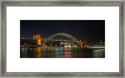 Sydney Harbour Bridge 2 Framed Print by Dasmin Niriella