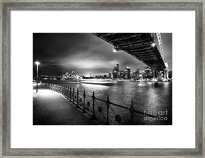 Sydney Harbour Ferries Framed Print