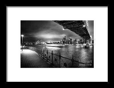 Sydney Harbour Framed Prints