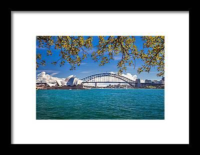 Sydney Harbour Bridge Framed Prints
