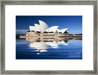 Sydney Icon Framed Print