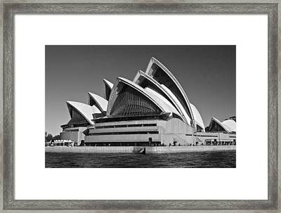 Sydney Opera House Framed Print by Venetia Featherstone-Witty