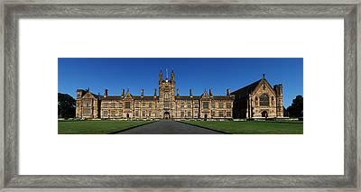 Sydney Uni Framed Print