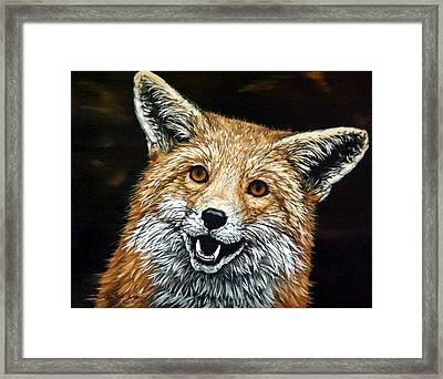 Sylar Framed Print by Linda Becker