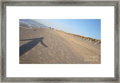 Sylt Freedom Framed Print