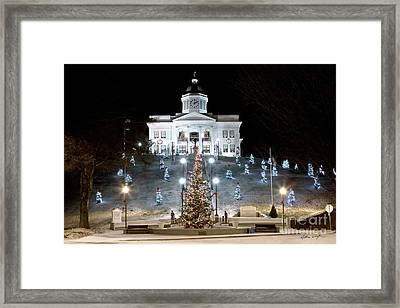 Sylva Courthouse 2012 Framed Print by Matthew Turlington