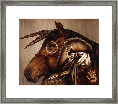 Symbionts Framed Print by Pat Erickson