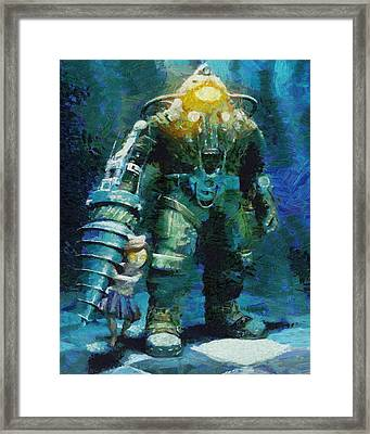 Symbiosis Framed Print by Joe Misrasi