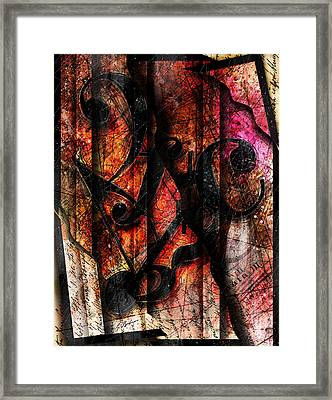 Symblz Framed Print by Gary Bodnar