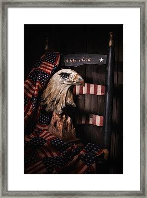 Symbol Of America Still Life Framed Print by Tom Mc Nemar